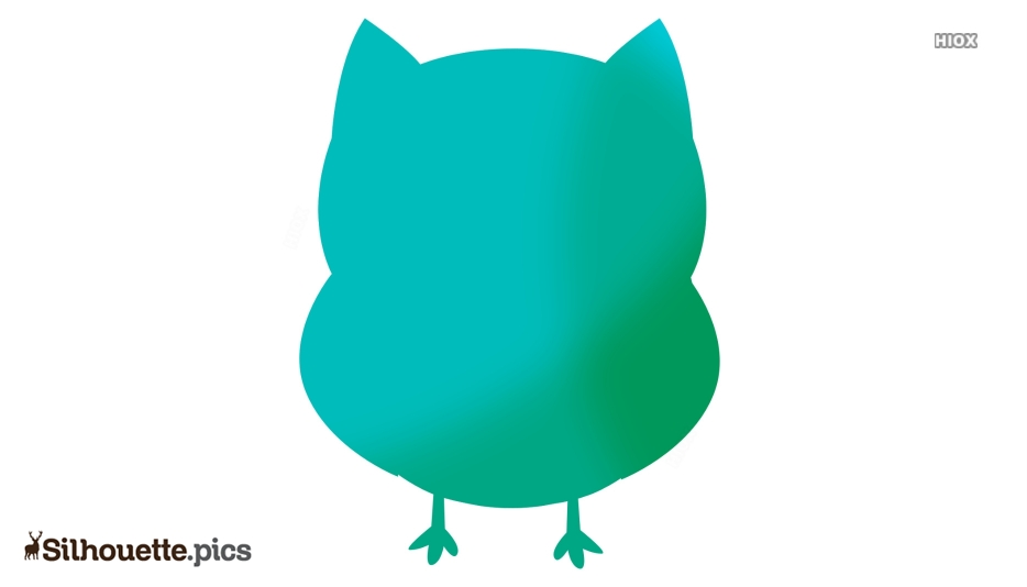 Cutest Owl Silhouette Clipart