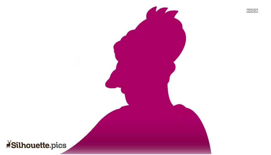 Cyrus Simpson Silhouette Icon