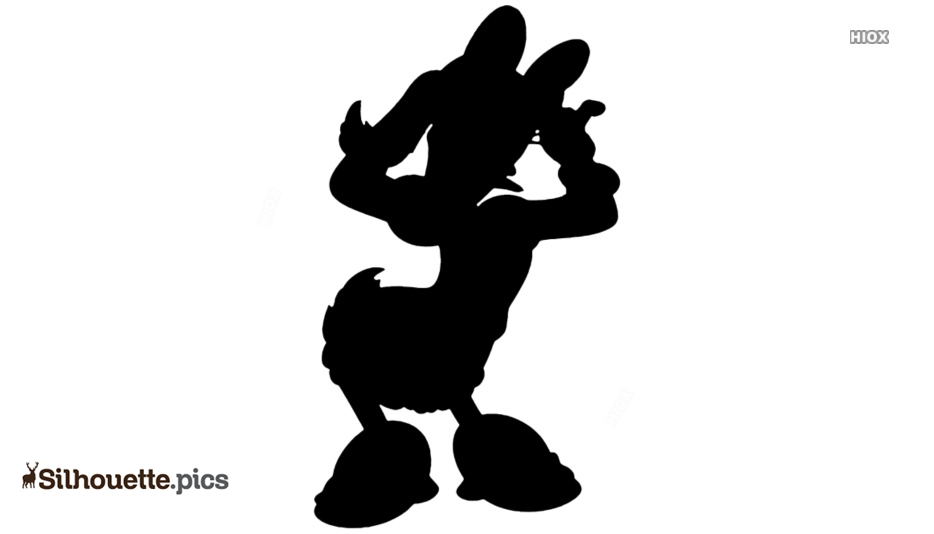 Daisy Duck Silhouette