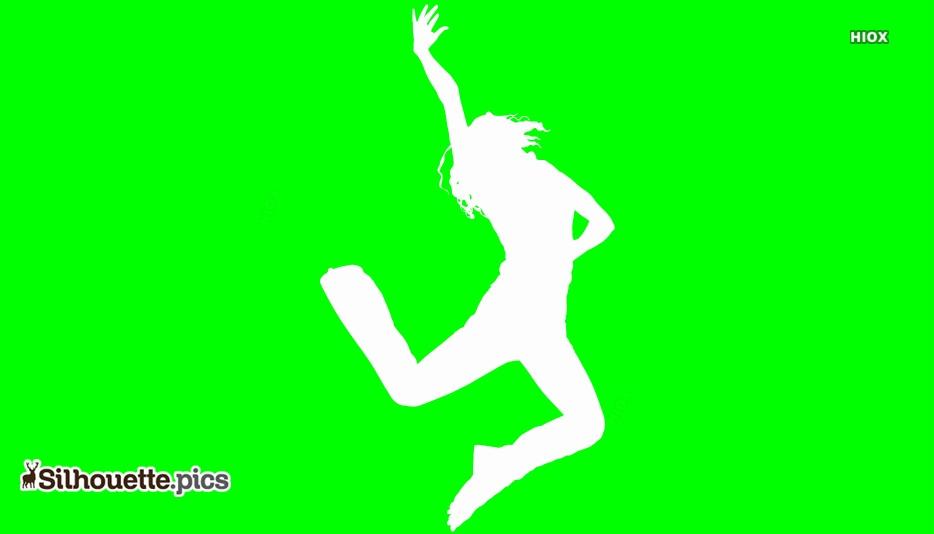 Dance Silhouette Art
