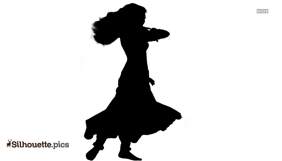 Dancing Clip Art Black and White