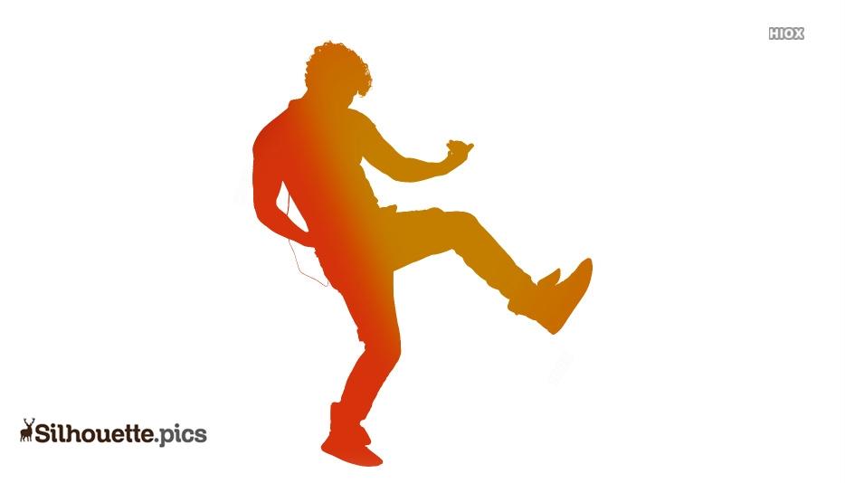 Dancing Silhouette Clip Art