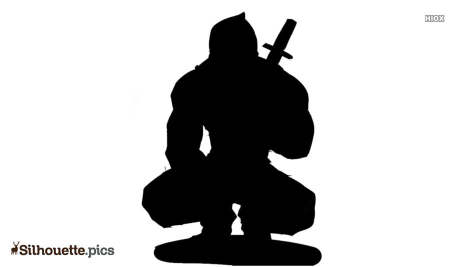 Deadpool Art Silhouette Picture