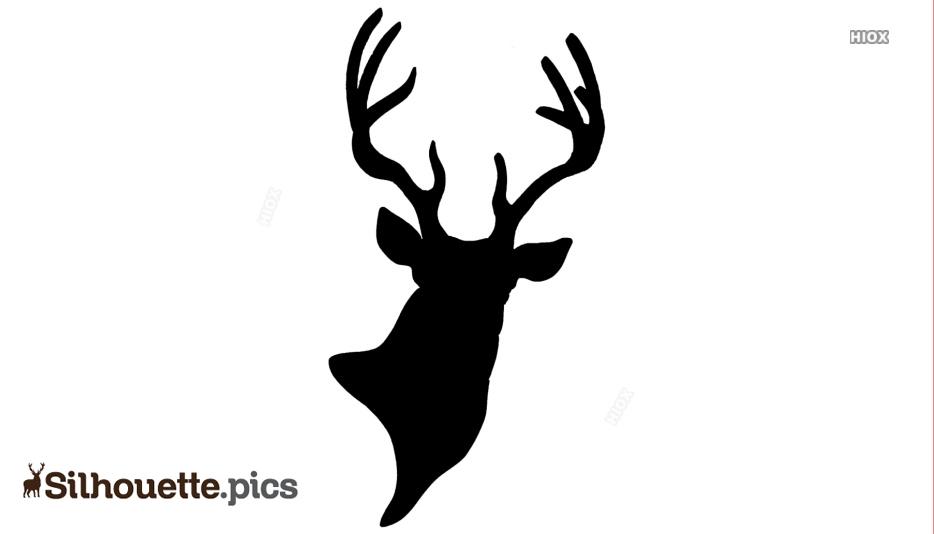 Deer Head Silhouette Svg Free Silhouette Pics