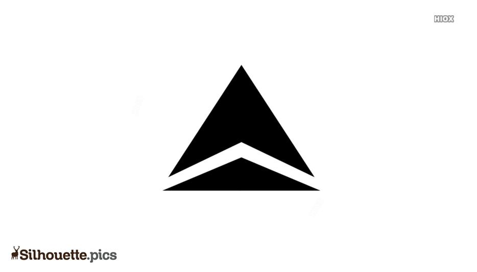 Delta Arrowhead Silhouette