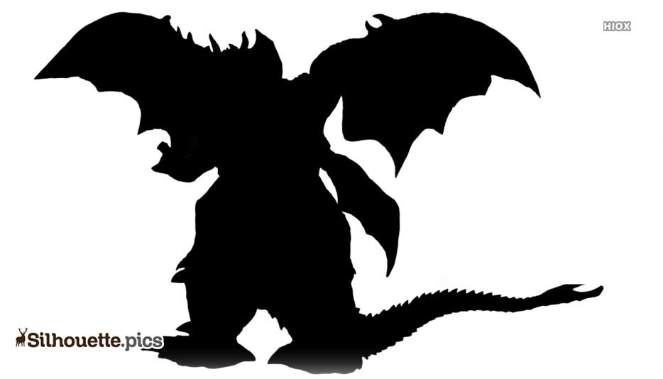 Godzilla Destroyah Silhouette Images, Pics