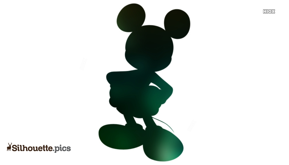 Disney Mickey Mouse Silhouette Art