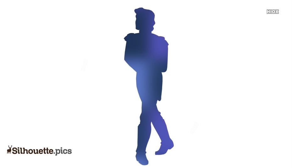 Disney Prince Eric Silhouette