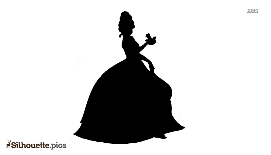 Disney Tiana Doll Silhouette Illustration Silhouette Pics