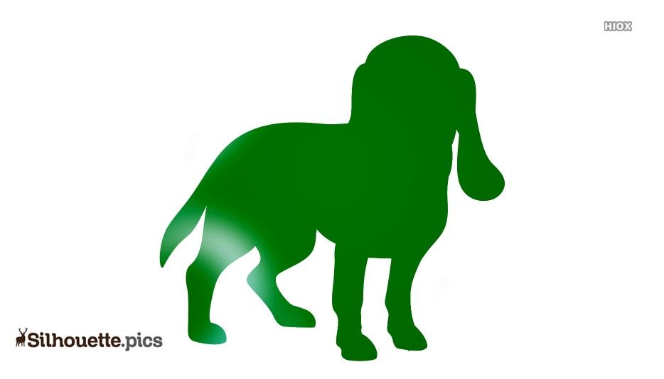 Dog Beagle Silhouette Image