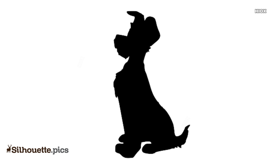 Dog Drawings Logo Silhouette For Download