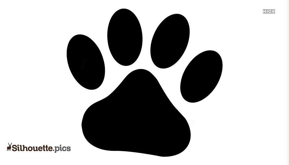 Dog Paw Drawing Clip Art
