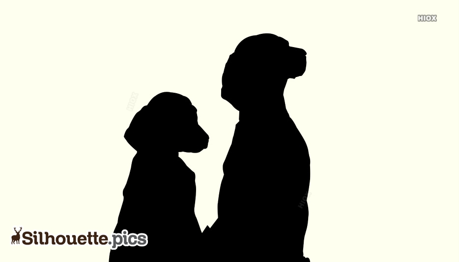 Dogs Silhouette Free Vector