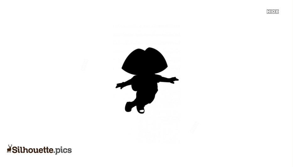 Dora Drawing Silhouette Art