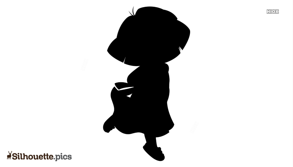 Dora The Ballerina Silhouette Free Vector Art