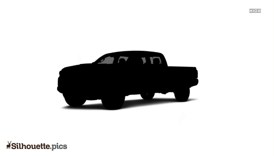 Double Cab Silhouette Clip Art