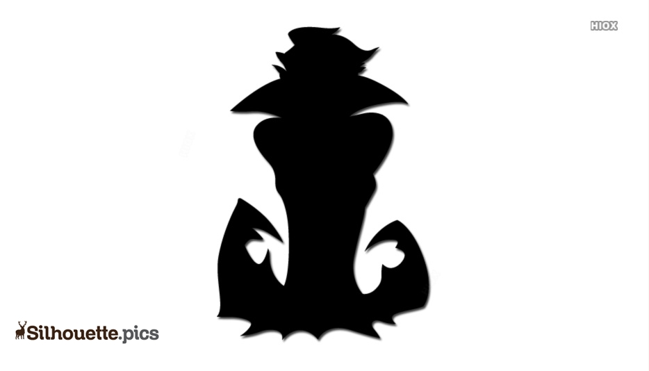 Dracula Cartoon Silhouette Images