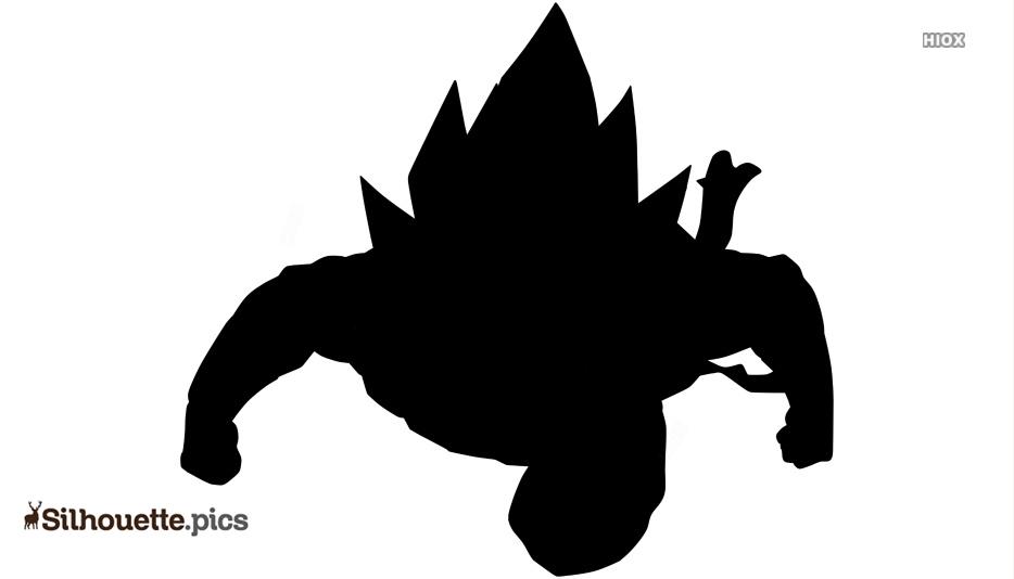 Dragon Ball Silhouette Image