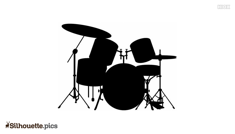 Drum Kit Silhouette