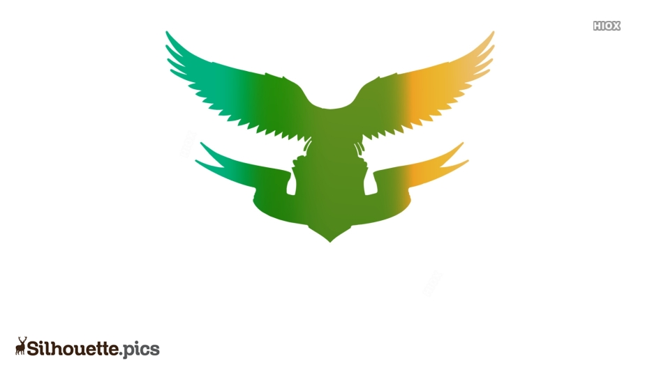 Eagle Cartoon Silhouette Vector And Graphics