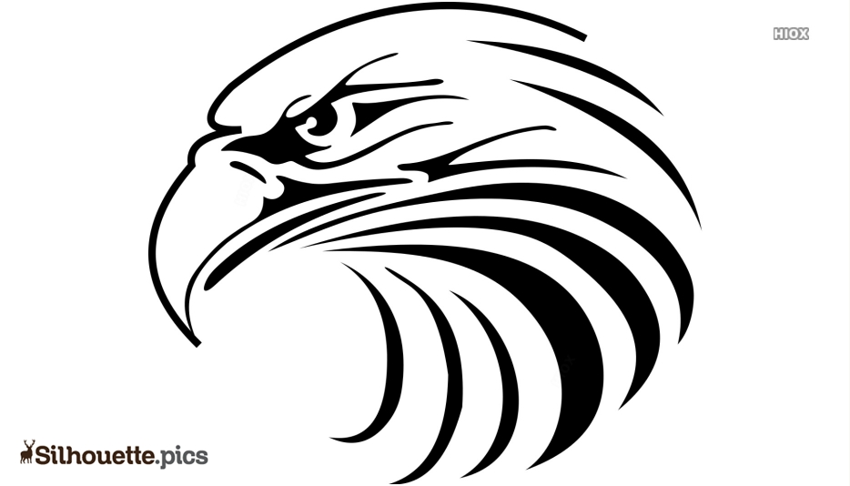 Eagle Head Silhouette Free Vector Art