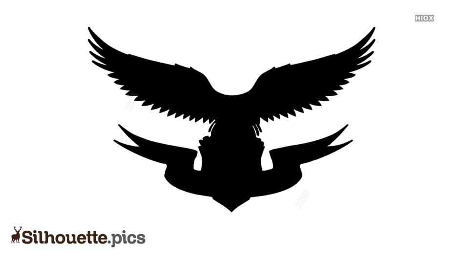 Eagle Logo Clipart Silhouette