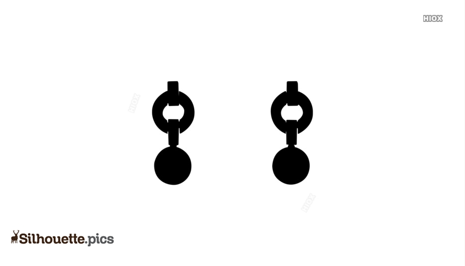Earrings Silhouette Images, Pictures
