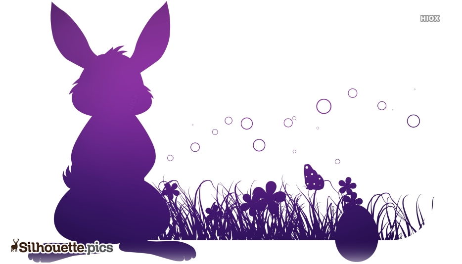 Easter Bunny Pic Silhouette