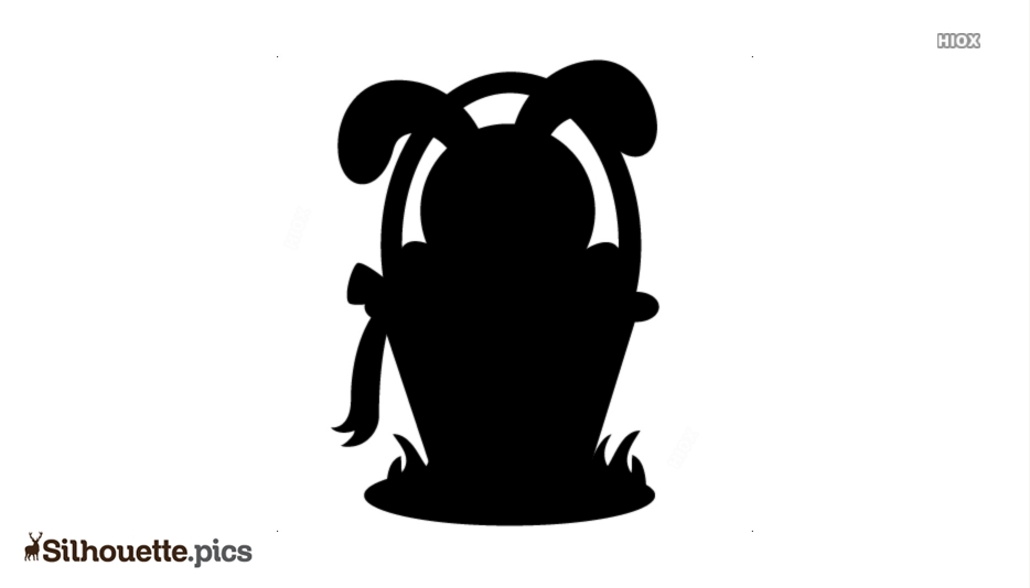 Easter Bunny Silhouette Cute