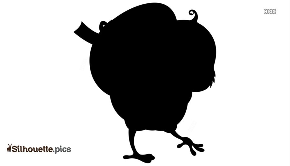 Easter Duck Silhouette Images