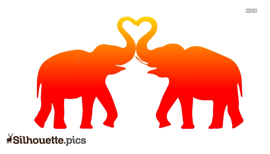 Elephant Silhouette Images