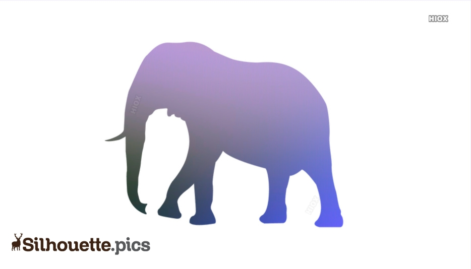 Elephant Silhouette Png