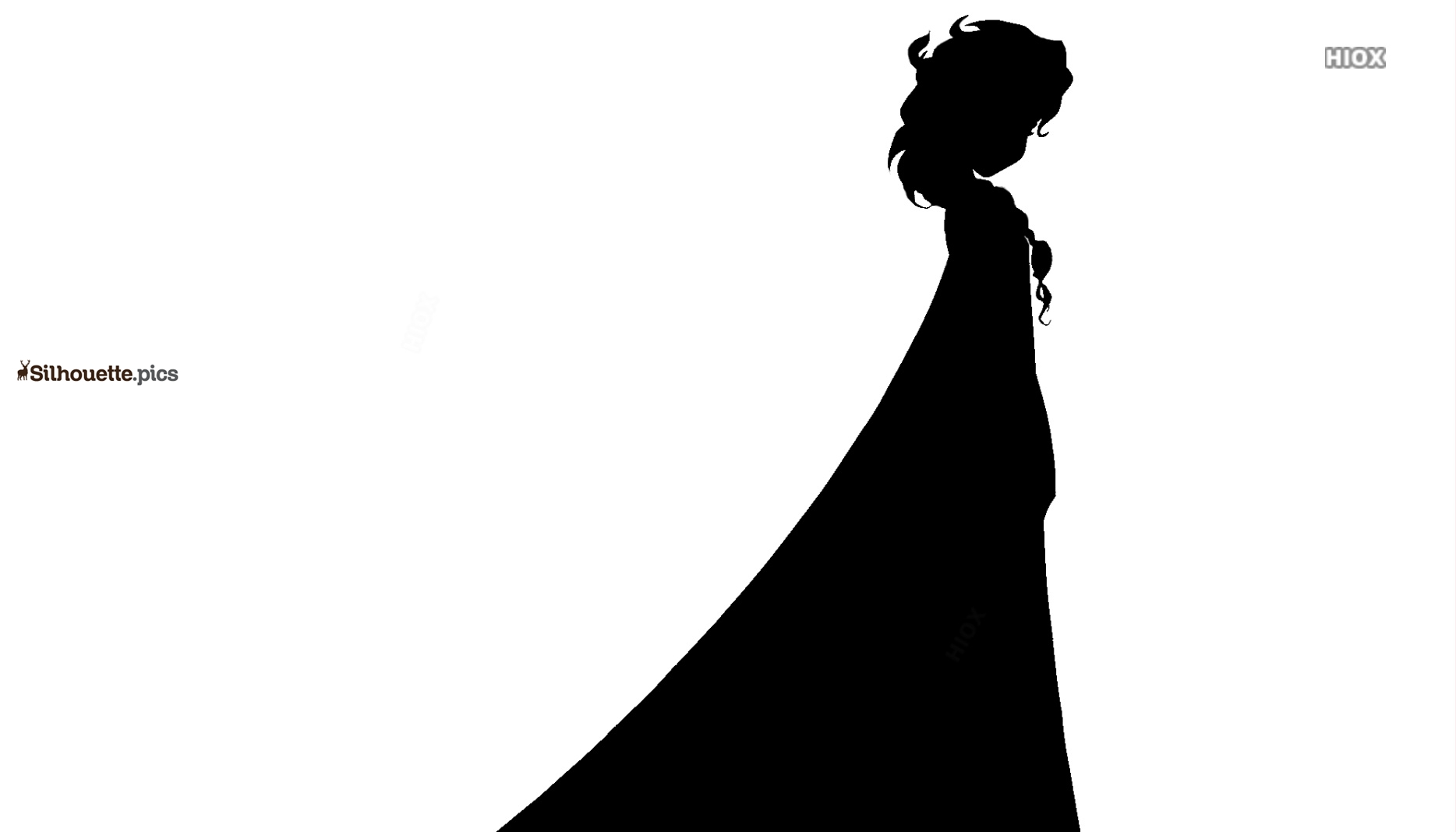 Elsa Silhouette Picture