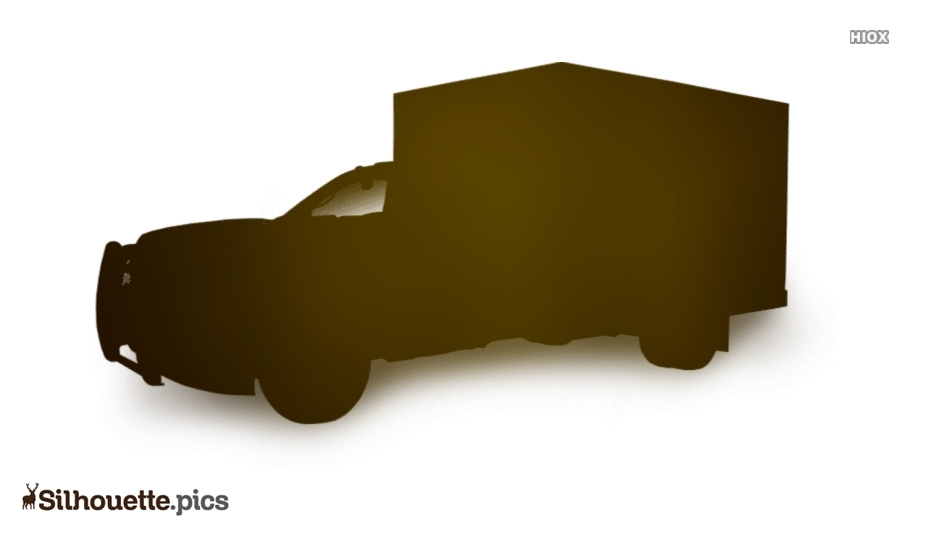 Emergency Vehicle Silhouette Drawing