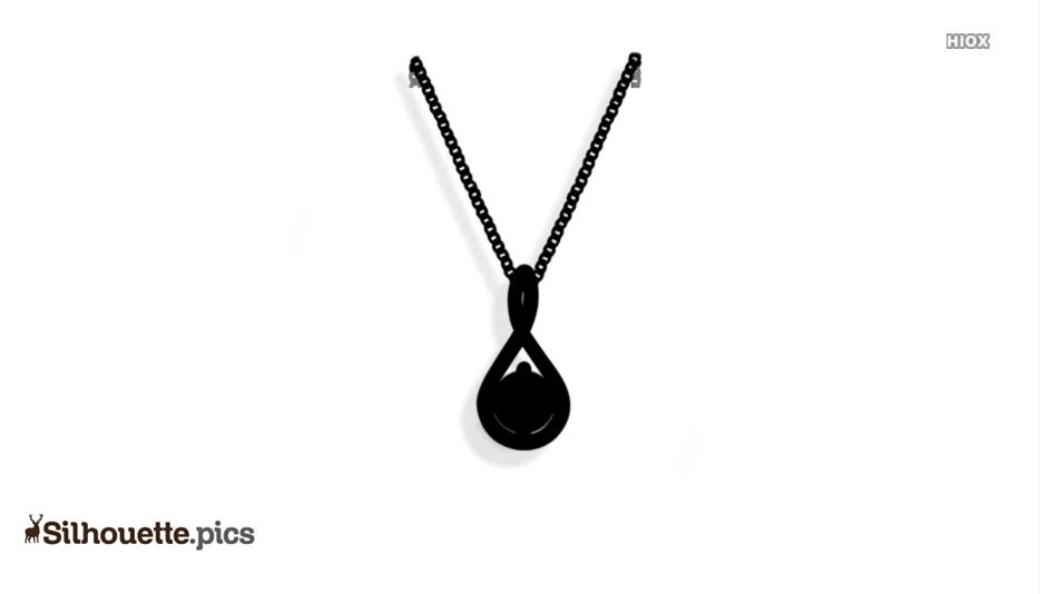 Neck Chain Silhouette Images, Vectors
