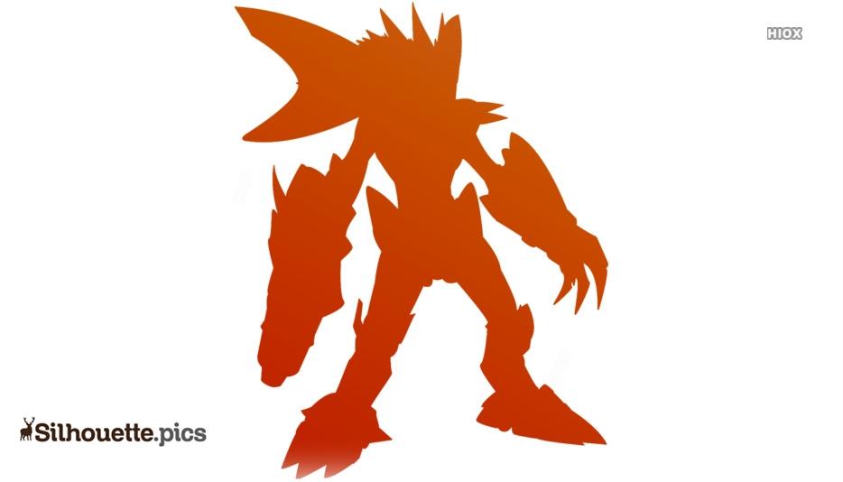 Epic Arceus Monster Silhouette Picture