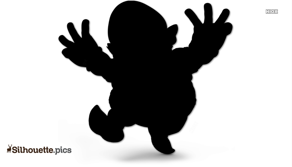 Evil Wario Fictional Character Silhouette