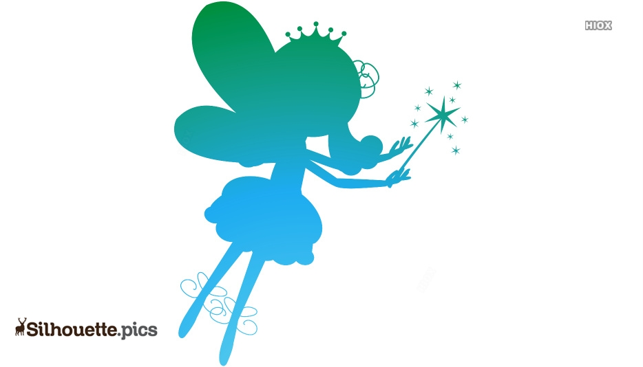 Fairy Drawing Silhouette