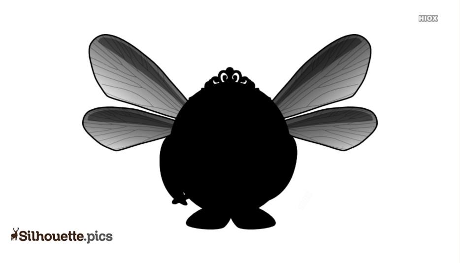 Fairy Penguin Silhouette