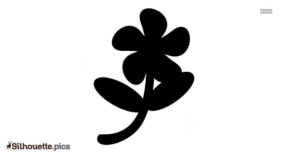 Fall Flower Silhouette Icon
