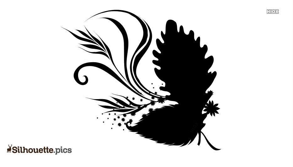 Leaf Drawing Silhouette, Vector Images