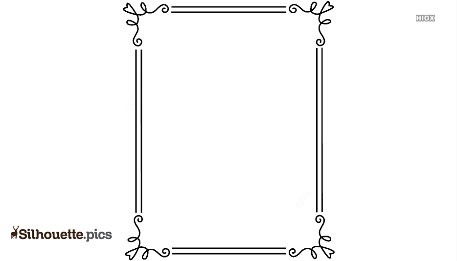 Fancy Page Border Design Clipart
