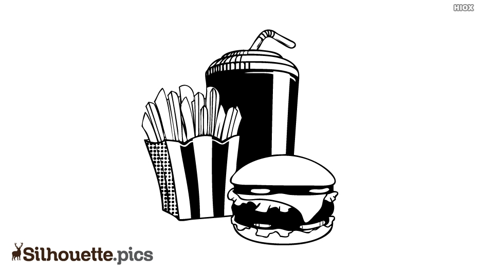 Food Silhouette Images, Pictures
