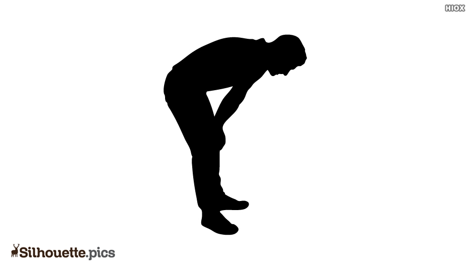 Fatigue Silhouette Icon Vector Image