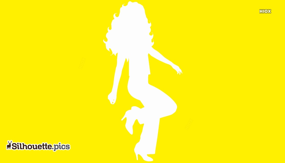 Girl Dancer Silhouette Images