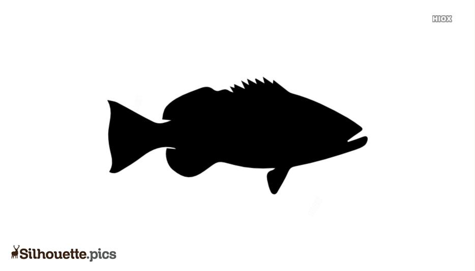 Fish Aquarium Silhouette Clipart