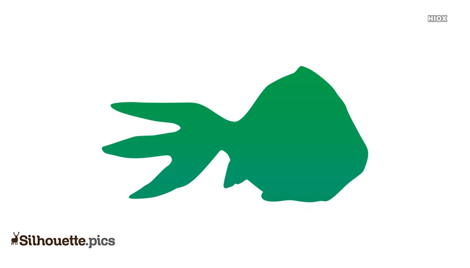 Fish Lane Silhouette Clipart