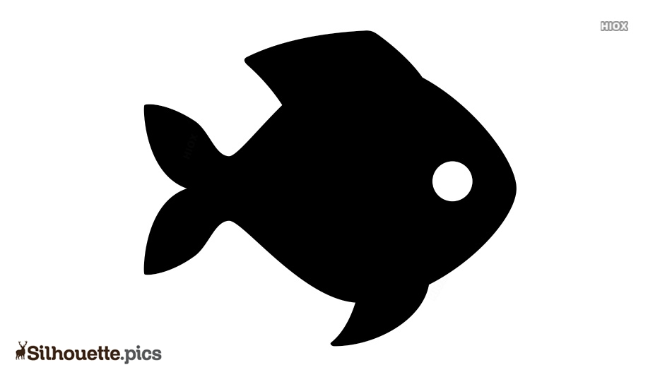 Fish Vector Silhouette Illustration