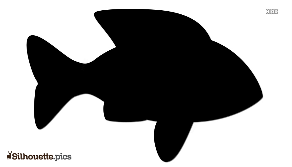 Fish Vector Silhouette Image