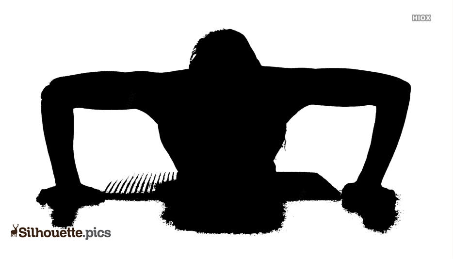 Workout Fitness PNG Transparent Silhouette